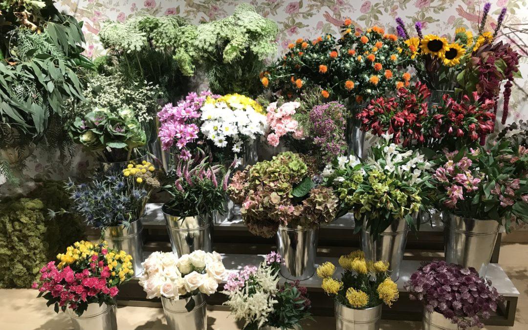 """""""Maribel Lolo Flores"""" o el chic convertido en floristería."""